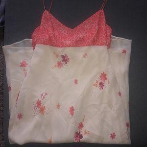 Ann Taylor Floral Silk Dress